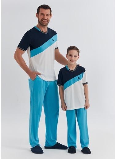 Dagi Erkek Çocuk Pijama Takım Ekru